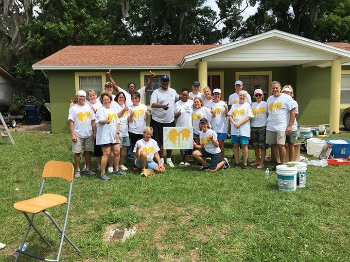 c4d05373 GFWC New Tampa Clubs join forces for Paint Your Heart Out Tampa ...